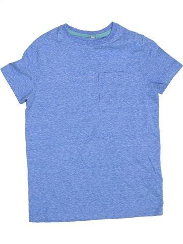 Camiseta de manga corta niño MARKS & SPENCER violeta 9 años verano #1304330_1