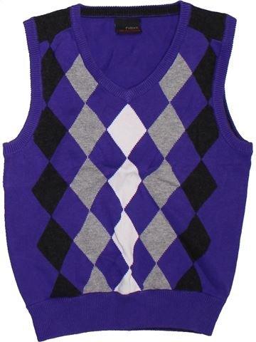 Pull garçon NEXT violet 5 ans hiver #1304344_1