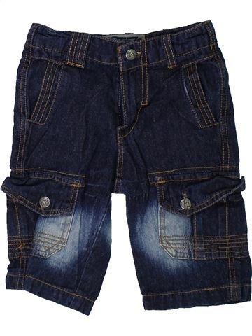 Pantalón corto niño BOY STAR azul oscuro 3 años verano #1304417_1