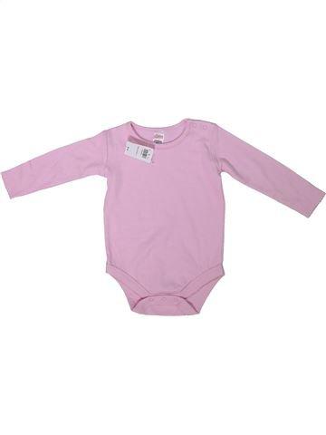 Camiseta de manga larga niña MINI rosa 9 meses invierno #1304650_1