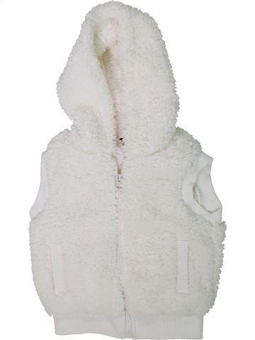 Gilet unisexe KIKI & KOKO blanc 4 ans hiver #1304667_1