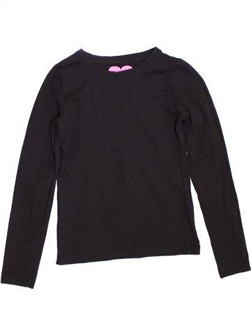 T-shirt manches longues fille PRIMARK bleu foncé 11 ans hiver #1304701_1