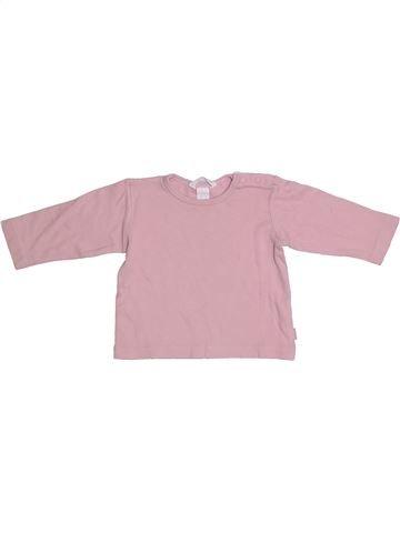 T-shirt manches longues fille H&M rose 9 mois hiver #1304923_1