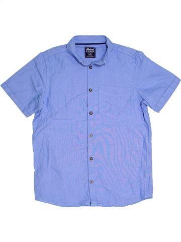 Chemise manches courtes garçon PRIMARK bleu 13 ans été #1305018_1