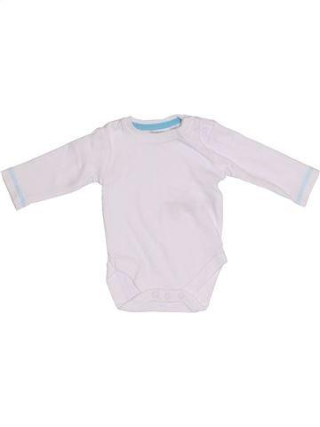 Camiseta de manga larga niño BLUEZOO blanco 0 meses invierno #1305093_1