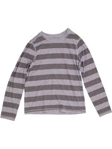 Camiseta de manga larga niño GEORGE gris 10 años invierno #1305142_1