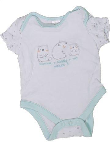 Camiseta de manga corta niño MINI CLUB gris 0 meses verano #1305159_1