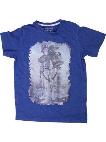 Camiseta de manga corta niño TRUE DUDES azul 9 años verano #1305175_1