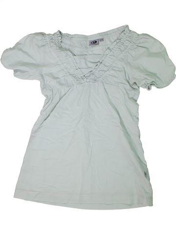 Blouse manches courtes fille GATONEGRO gris 11 ans été #1305439_1