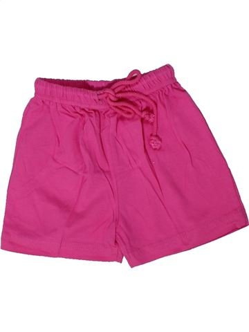 Short - Bermuda fille BASICS rose 18 mois été #1305539_1