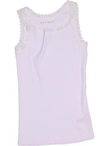 Camiseta sin mangas niña NUTMEG blanco 8 años verano #1305550_1