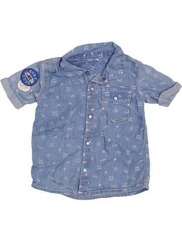 Camisa de manga corta niño F&F azul 2 años verano #1305653_1