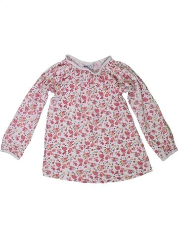 T-shirt manches longues fille OKAY gris 5 ans hiver #1305672_1