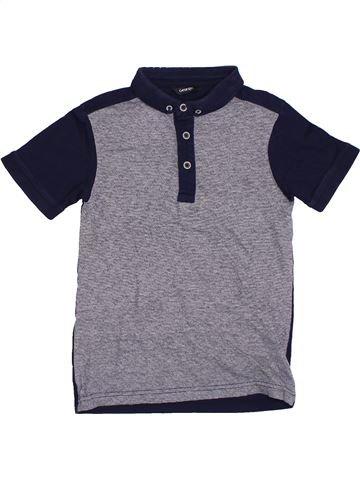 Polo manches courtes garçon GEORGE gris 8 ans été #1305693_1