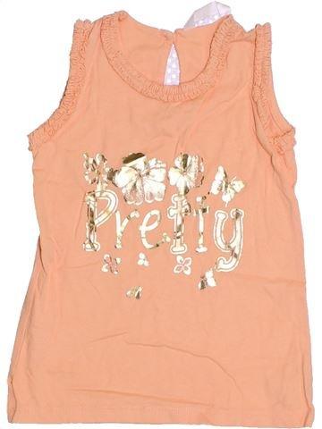 T-shirt sans manches fille M&CO rose 3 ans été #1305711_1