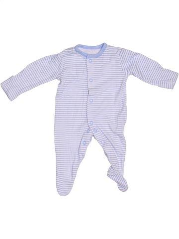 Pyjama 1 pièce garçon GEORGE gris 1 mois été #1305747_1