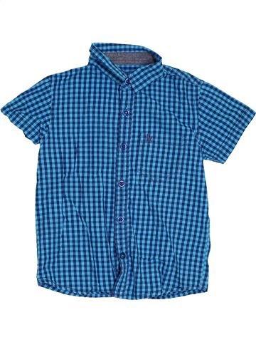 Chemise manches courtes garçon PRIMARK bleu 4 ans été #1305776_1