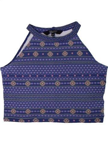 T-shirt sans manches fille NEW LOOK bleu 14 ans été #1305803_1