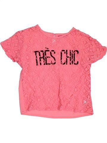 T-shirt manches courtes fille PRIMARK rose 13 ans été #1305840_1