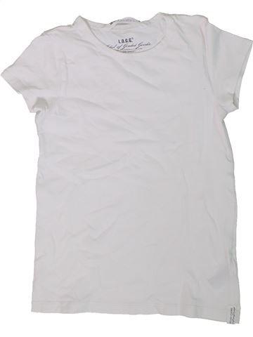 Camiseta de manga corta niña H&M blanco 8 años verano #1305862_1
