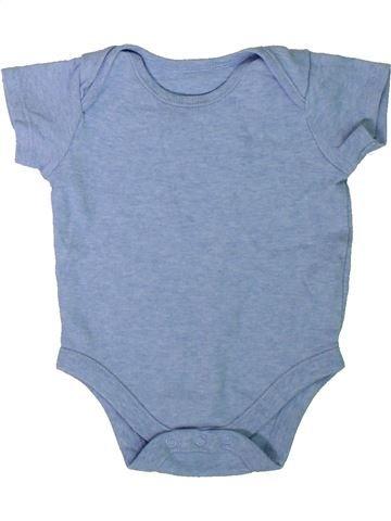 T-shirt manches courtes garçon F&F bleu 9 mois été #1305876_1