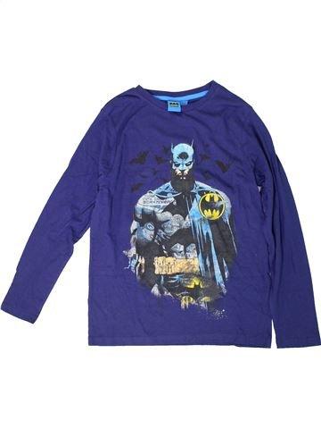 T-shirt manches longues garçon SUPERS HÉROS violet 13 ans hiver #1305903_1