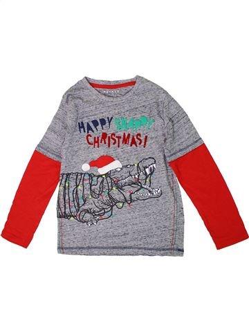 T-shirt manches longues garçon NUTMEG gris 9 ans hiver #1305906_1