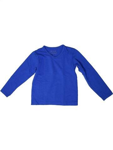 T-shirt manches longues garçon SANS MARQUE bleu 8 ans hiver #1306047_1