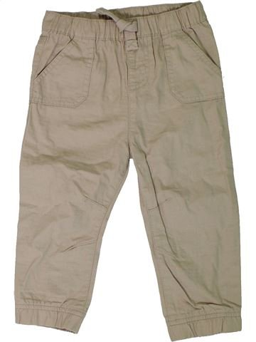 Pantalon garçon F&F beige 2 ans été #1306151_1