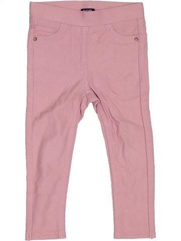 Pantalon fille KIABI rose 2 ans hiver #1306254_1