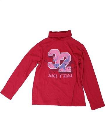 Camiseta de cuello alto niño CRIVIT rojo 10 años invierno #1306321_1