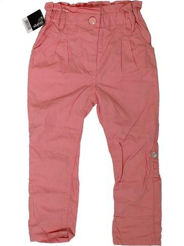 Pantalón niña GEORGE rosa 2 años verano #1306373_1