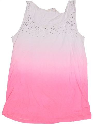 T-shirt sans manches fille H&M rose 14 ans été #1306375_1
