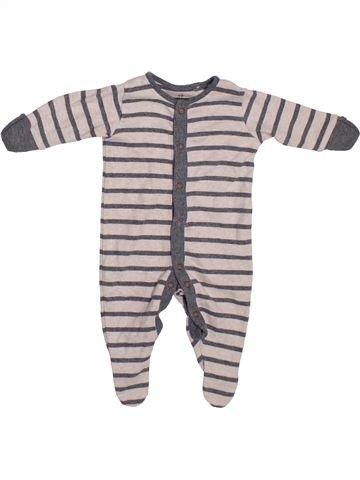 Pyjama 1 pièce garçon NEXT rose 1 mois été #1306391_1
