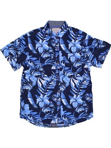 Chemise manches courtes garçon NEXT bleu 8 ans été #1306396_1
