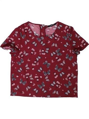 Camisa de manga corta niño NEW LOOK marrón 14 años verano #1306416_1