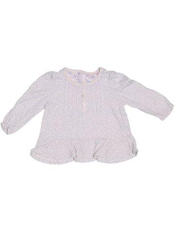 T-shirt manches longues fille MINI CLUB blanc 9 mois hiver #1306426_1