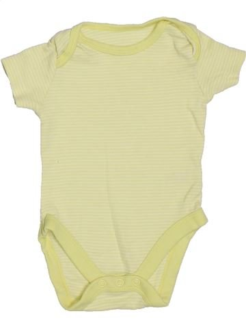 T-shirt manches courtes unisexe MINI CLUB jaune 3 mois été #1306445_1