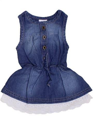 Robe fille F&F bleu 3 mois été #1306470_1