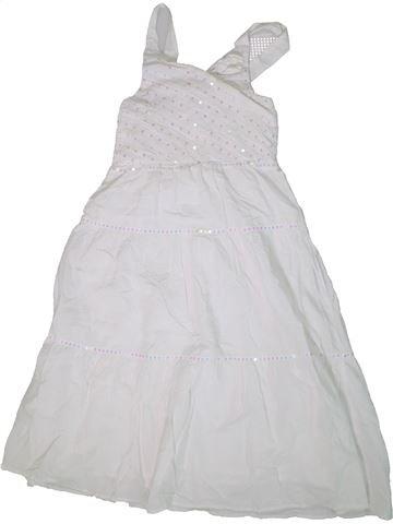Robe fille YFK blanc 14 ans été #1306492_1