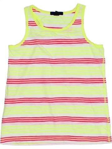 T-shirt sans manches fille GAP beige 9 ans été #1306497_1