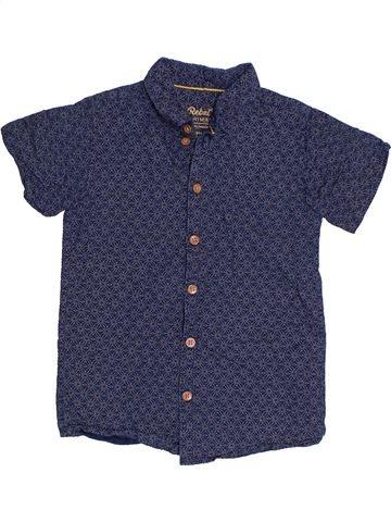 Chemise manches courtes garçon PRIMARK bleu 5 ans été #1306505_1