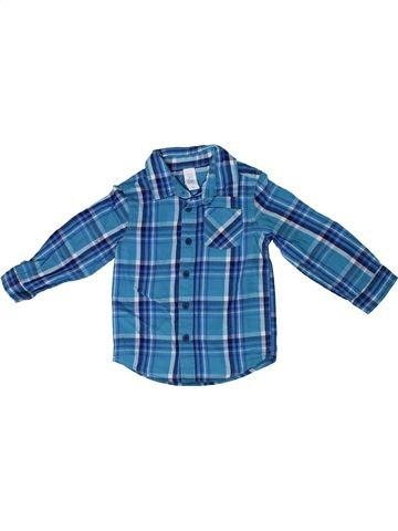 Chemise manches longues garçon C&A bleu 2 ans hiver #1306520_1