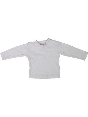 Camiseta de manga larga unisex C&A blanco 0 meses invierno #1306564_1