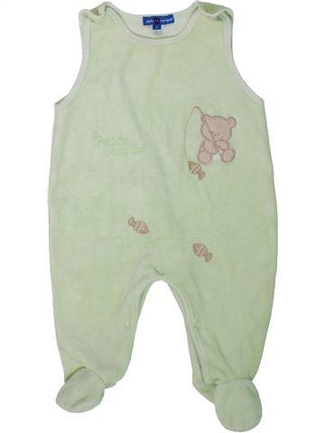 Pyjama 1 pièce unisexe JOHN LOVED gris 12 mois été #1306589_1