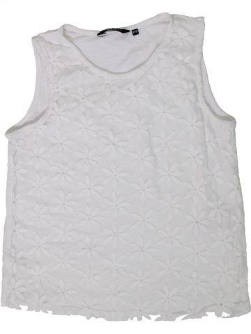 Camiseta sin mangas niña NEW LOOK blanco 13 años verano #1306618_1