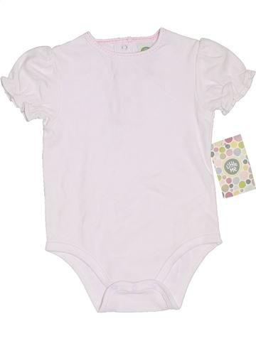 Camiseta de manga corta niña LITTLE ME blanco 9 meses verano #1306651_1