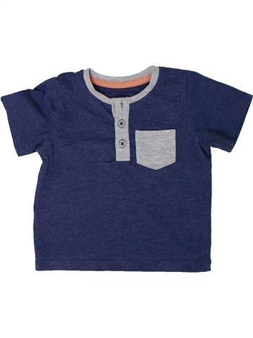 Camiseta de manga corta niño TU azul 3 meses verano #1306656_1