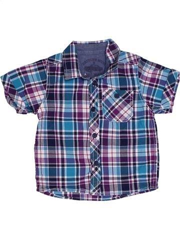 Chemise manches courtes garçon SANS MARQUE bleu 9 mois été #1306665_1