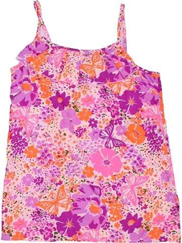 Blusa de manga corta niña BLUEZOO rosa 13 años verano #1306727_1